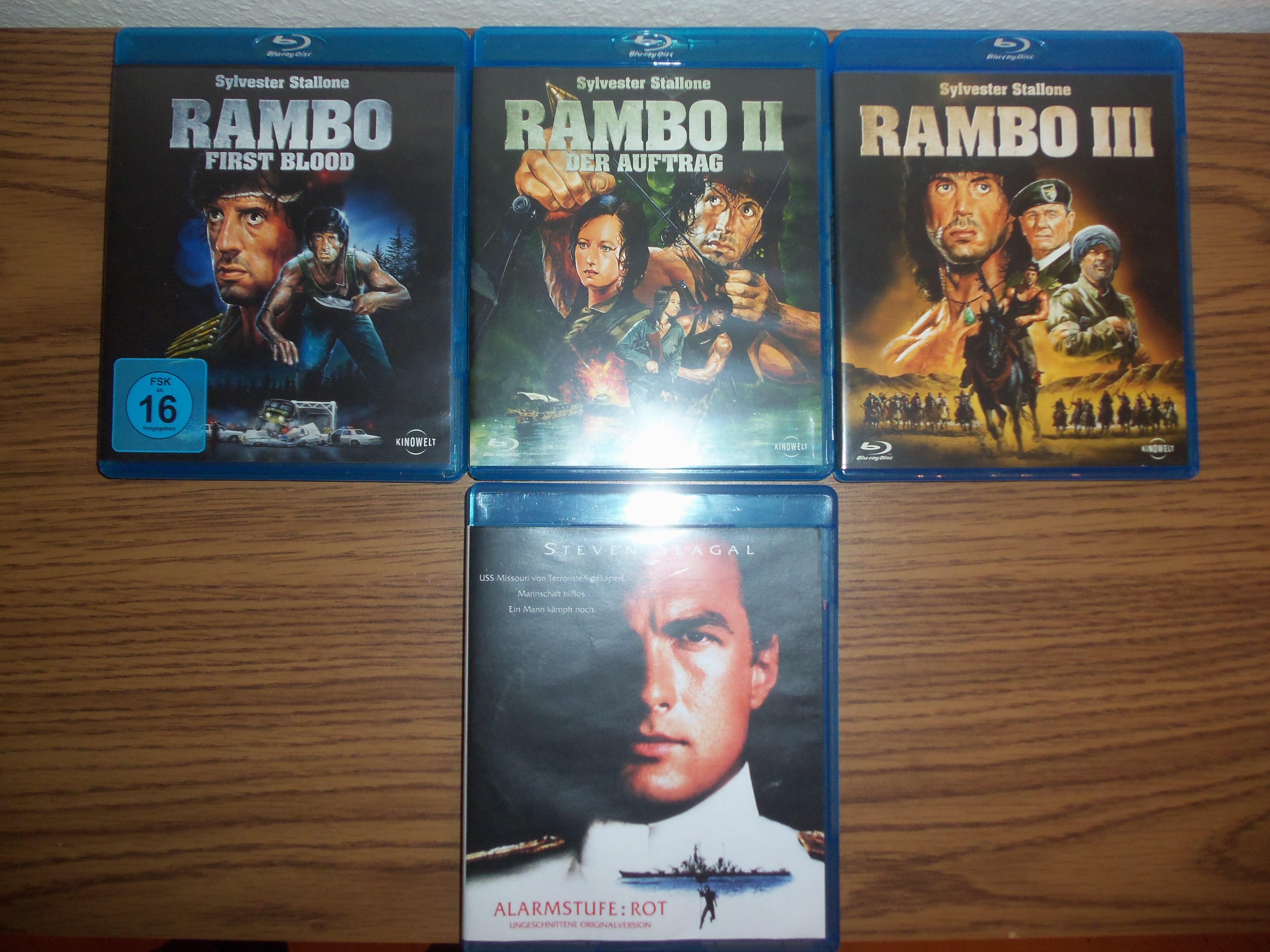 Rambo u. Alarmstufe Rot