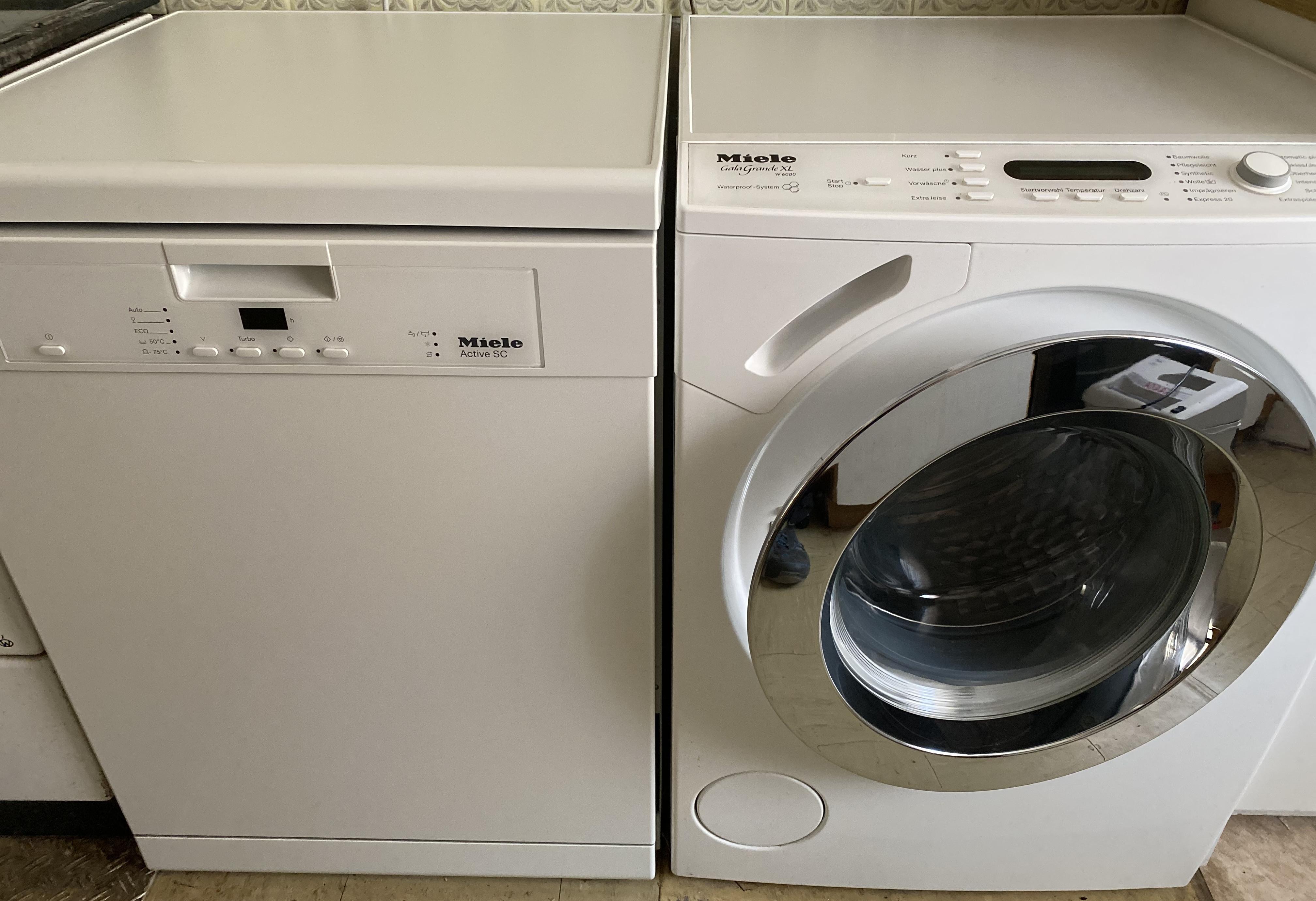 Miele Spülmaschine und Waschmaschine