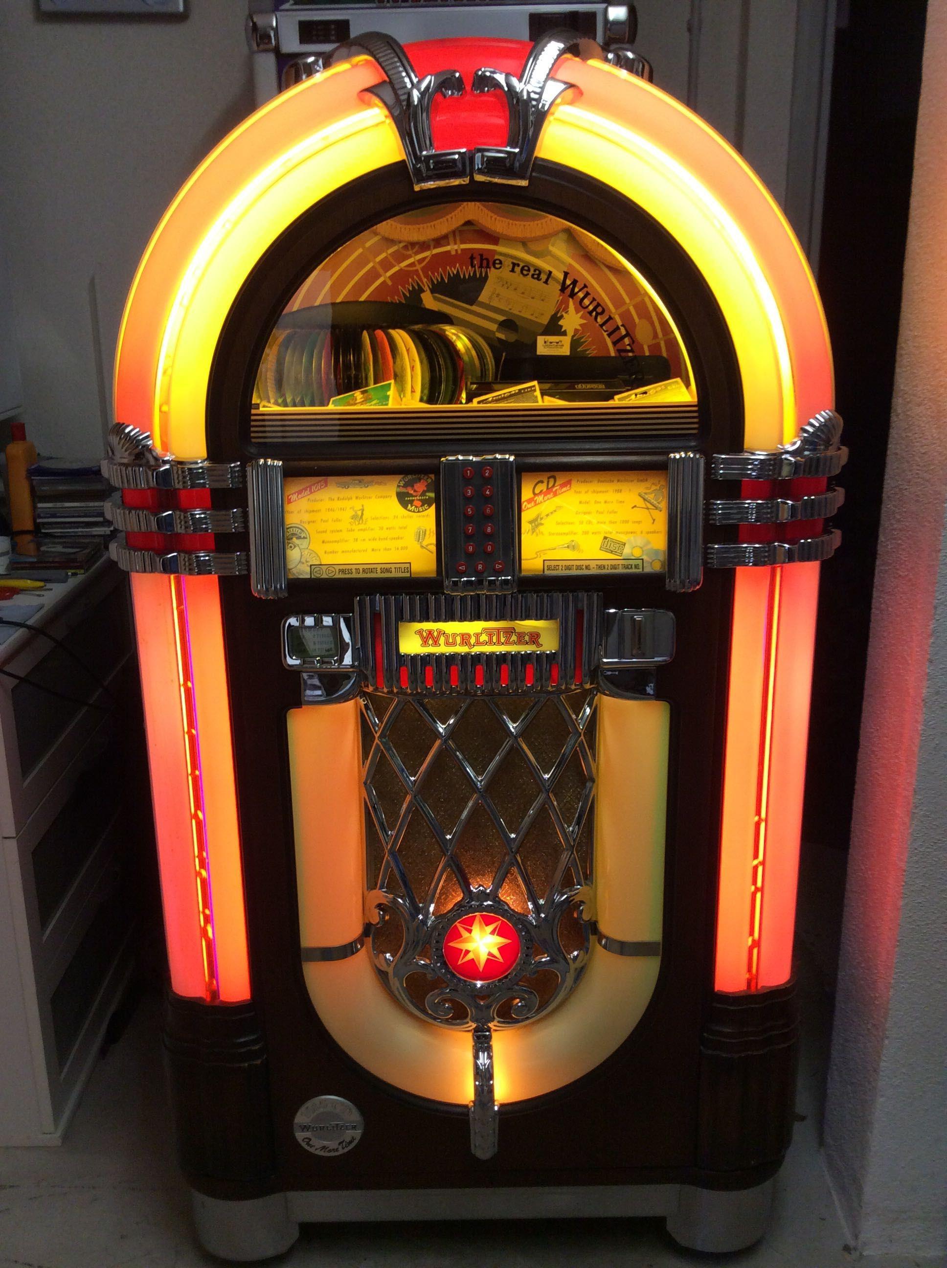Musikbox Wurlitzer OMT
