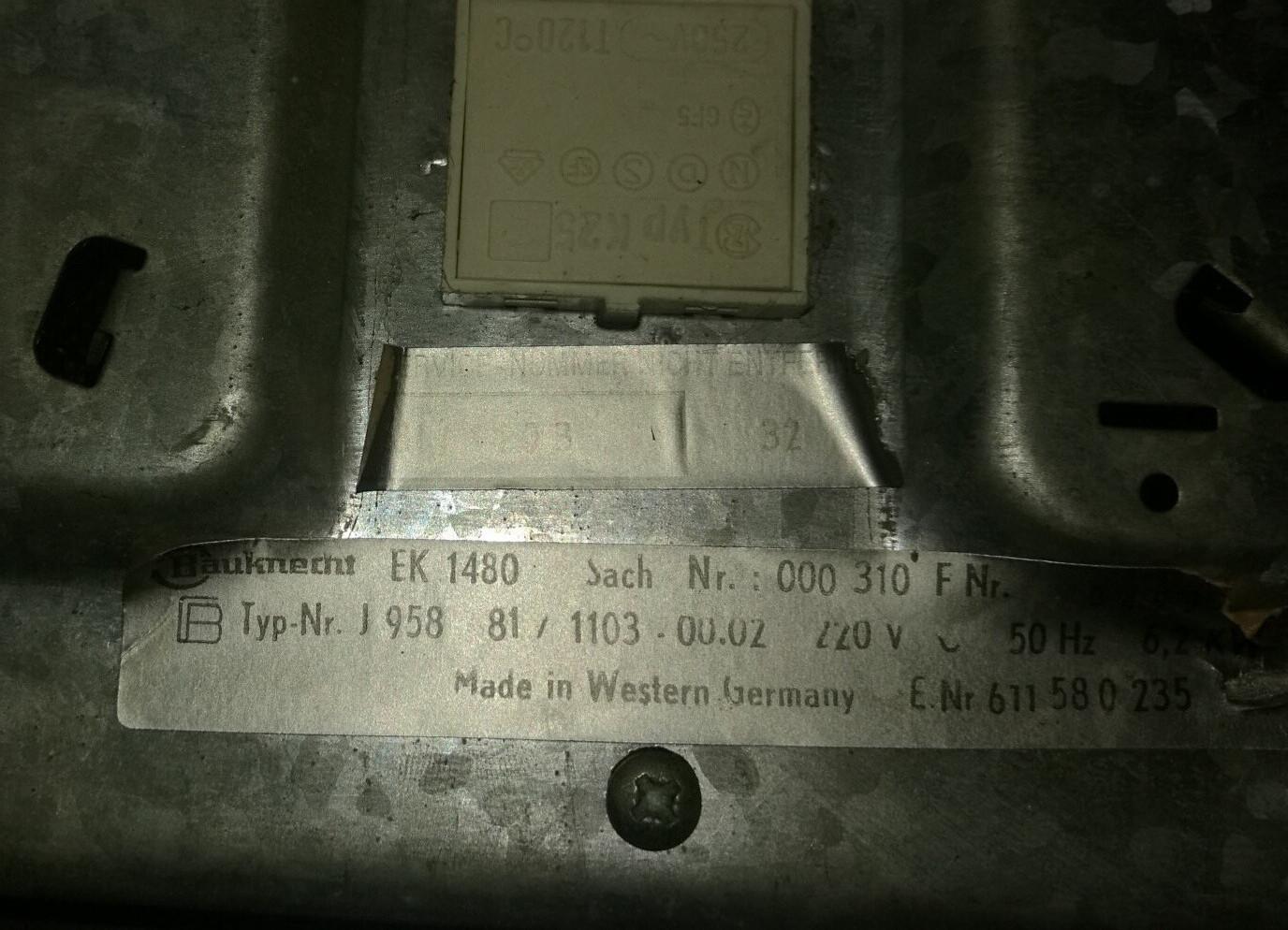 Bosch Ceranfeld MUM54230/02