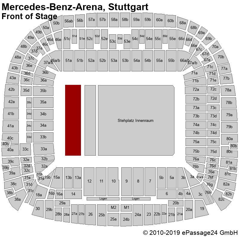 """2 Sitzplätze """"Die Fantastischen Vier"""" Stuttgart"""