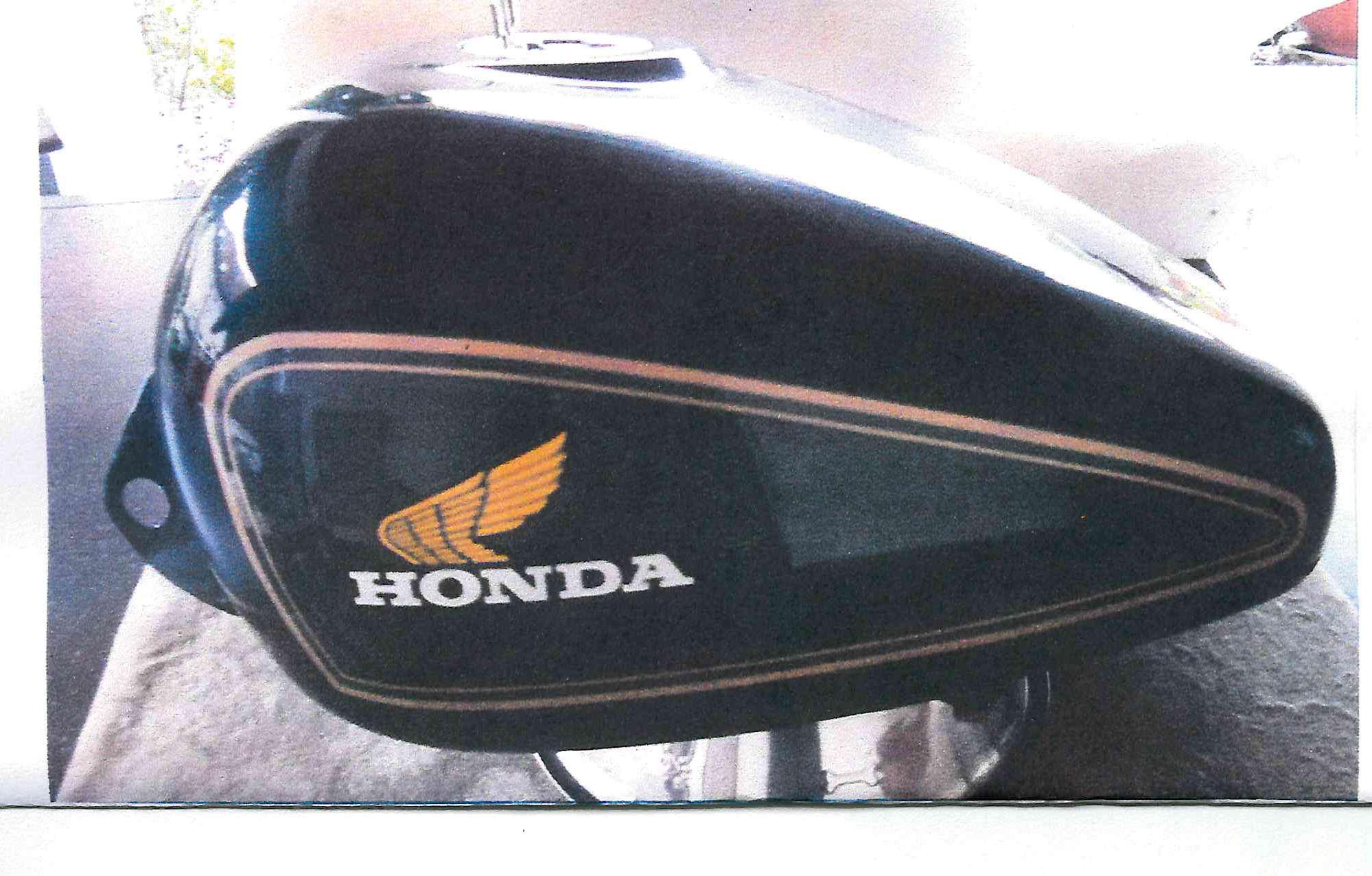 Motorrad-Tank 21 L