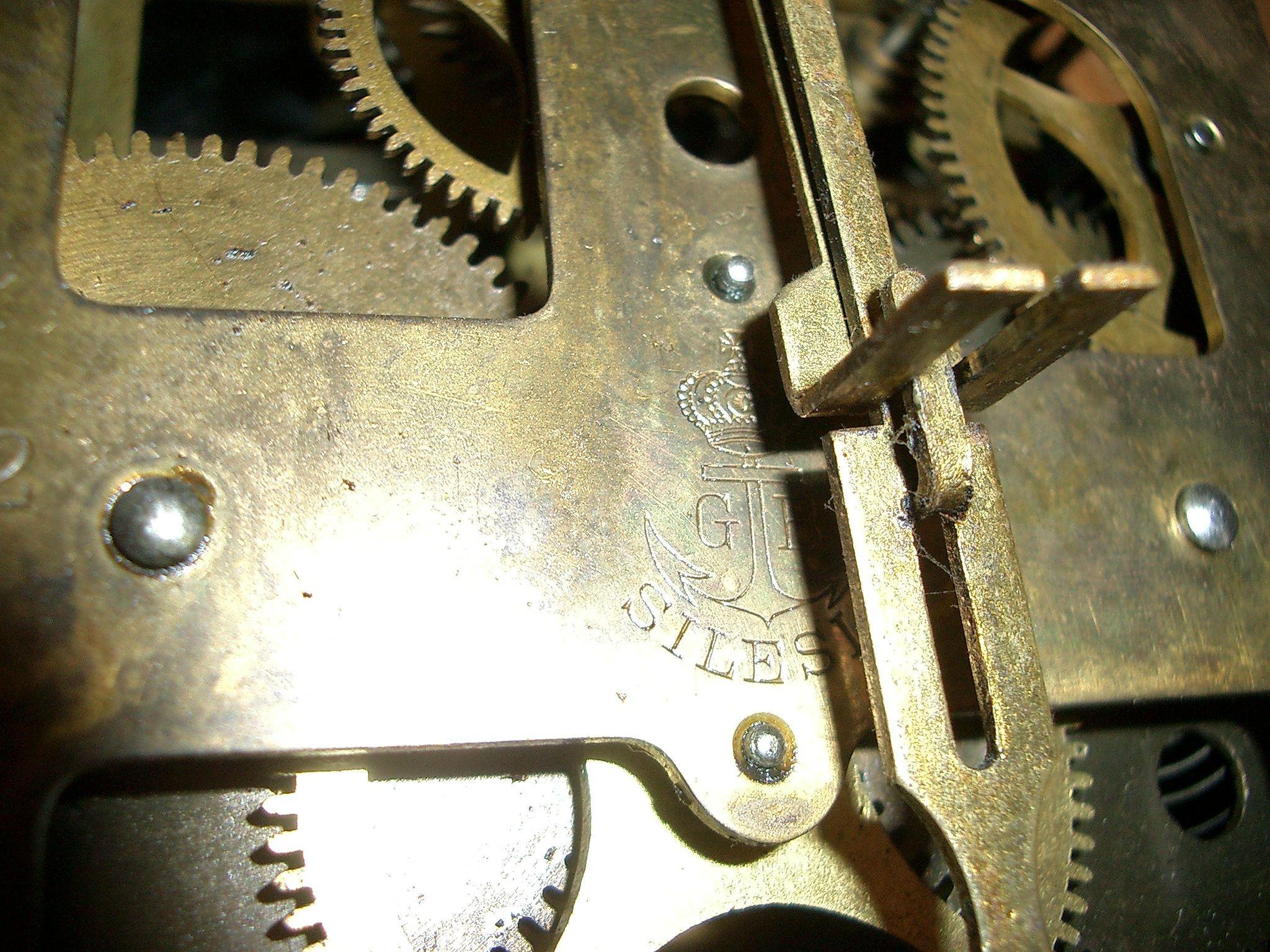 Uhr, Pendeluhr, Regulator, Freischwinger