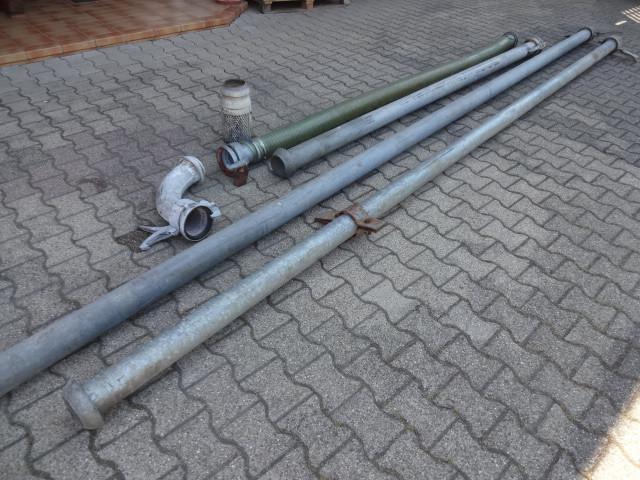 Perrot Brunnen-Saugrohr Set verzinkt