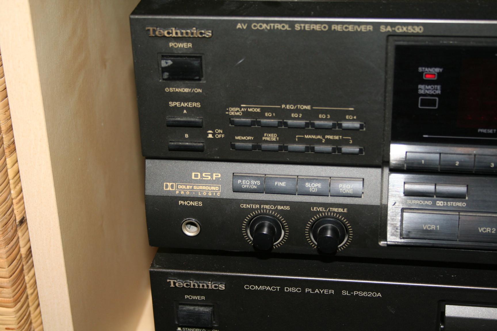 3 verschiedene Receiver Technics, Kenwood und Sony abzugeben