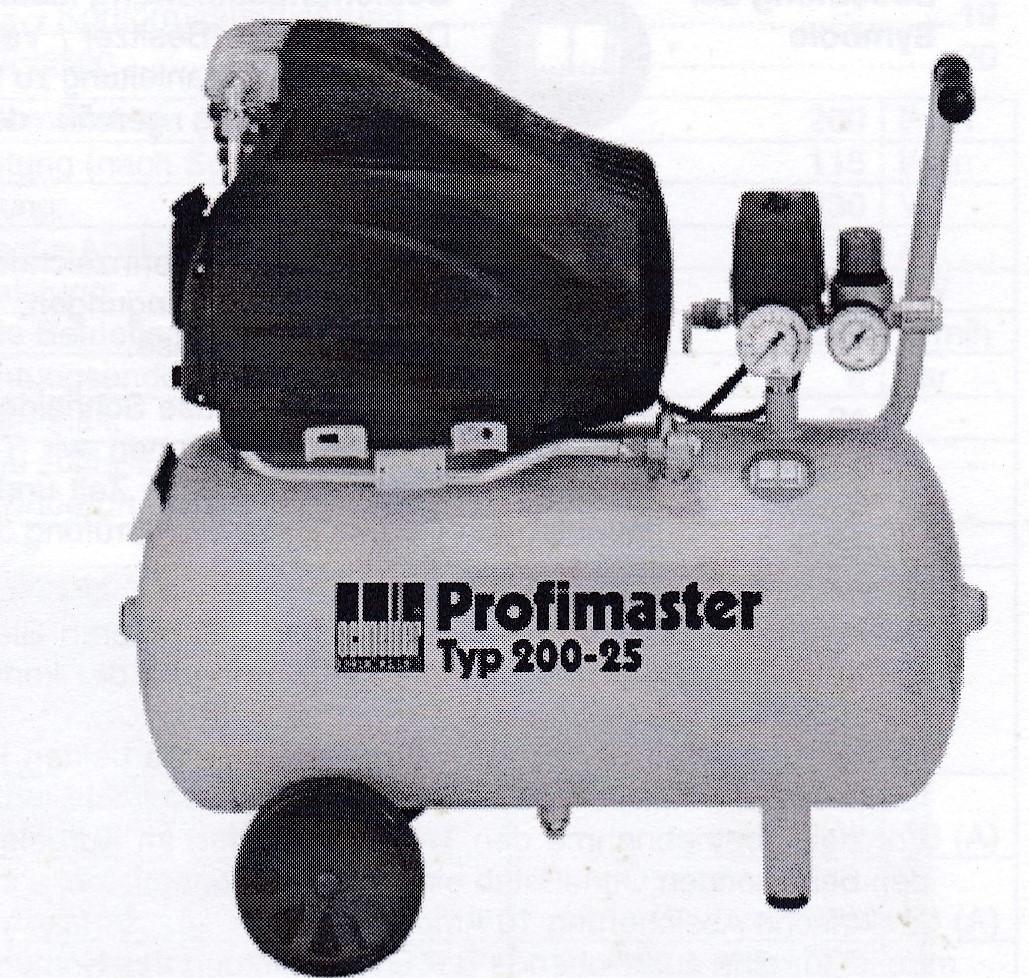 Kompressor Typ 200-25 W