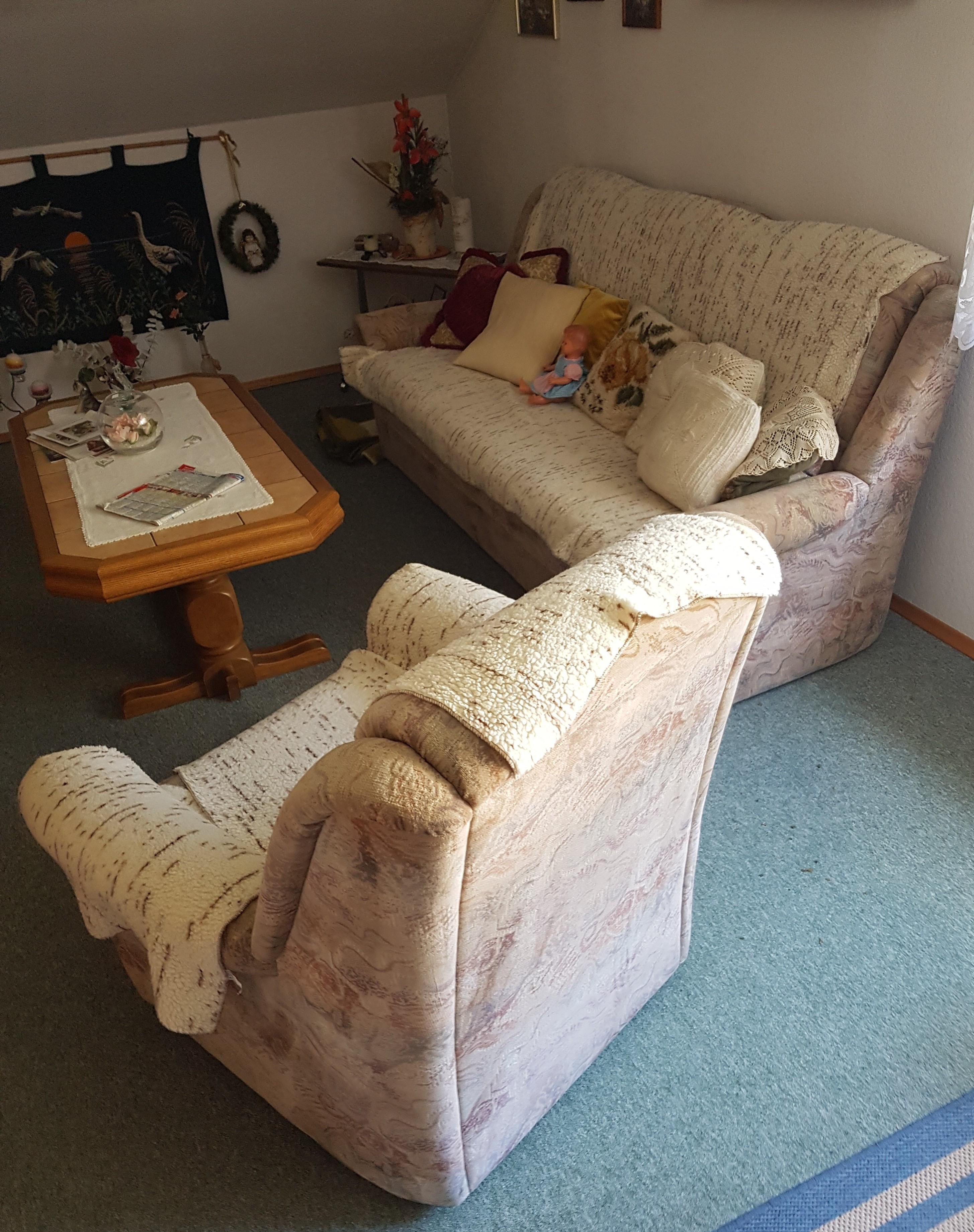 Schlaf-Sofa, Sessel