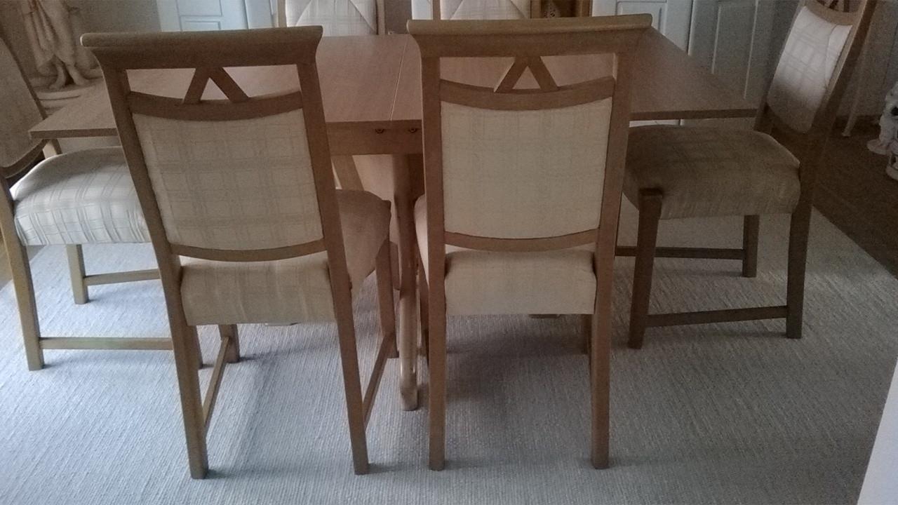 6 Esszimmerstühle Buche
